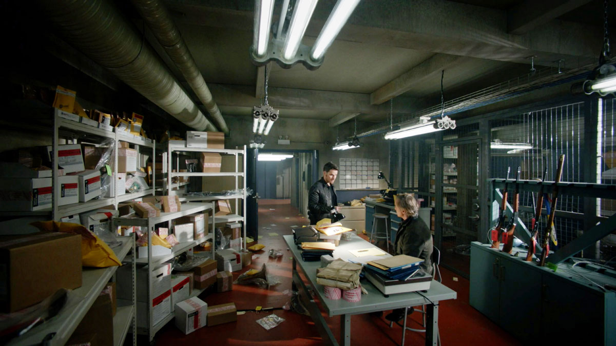 ONCE UPON A TIME: S7 - POLICE EVIDENCE ROOM - SCREEN STILL