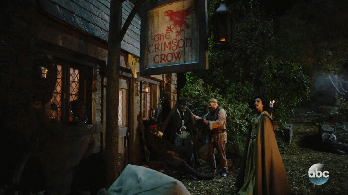 "ONCE UPON A TIME: S7 - ""CRIMSON CROW"" BAYOU TAVERN - SCREEN STILL"