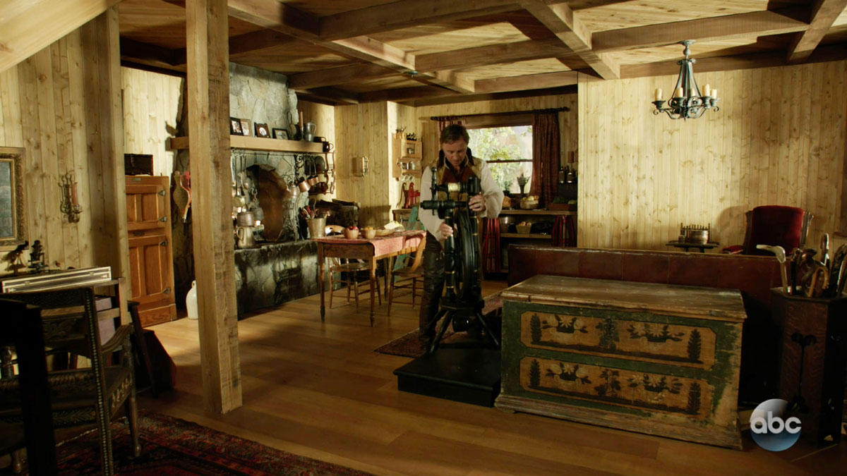 "ONCE UPON A TIME: S7 - ""EDGE OF REALMS"" CABIN - SCREEN STILL"