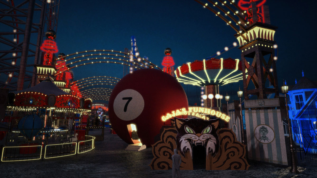 "ONCE UPON A TIME: S7 - ""PLEASURE ISLAND"" MIDWAY - CONCEPT - 3D/RENDERING: DOUGLAS McCLEAN"