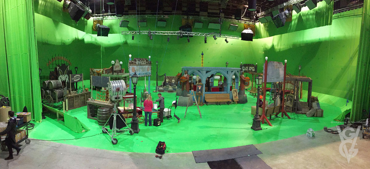 "ONCE UPON A TIME: S7 - ""PLEASURE ISLAND"" CARNIVAL - SET PHOTO"
