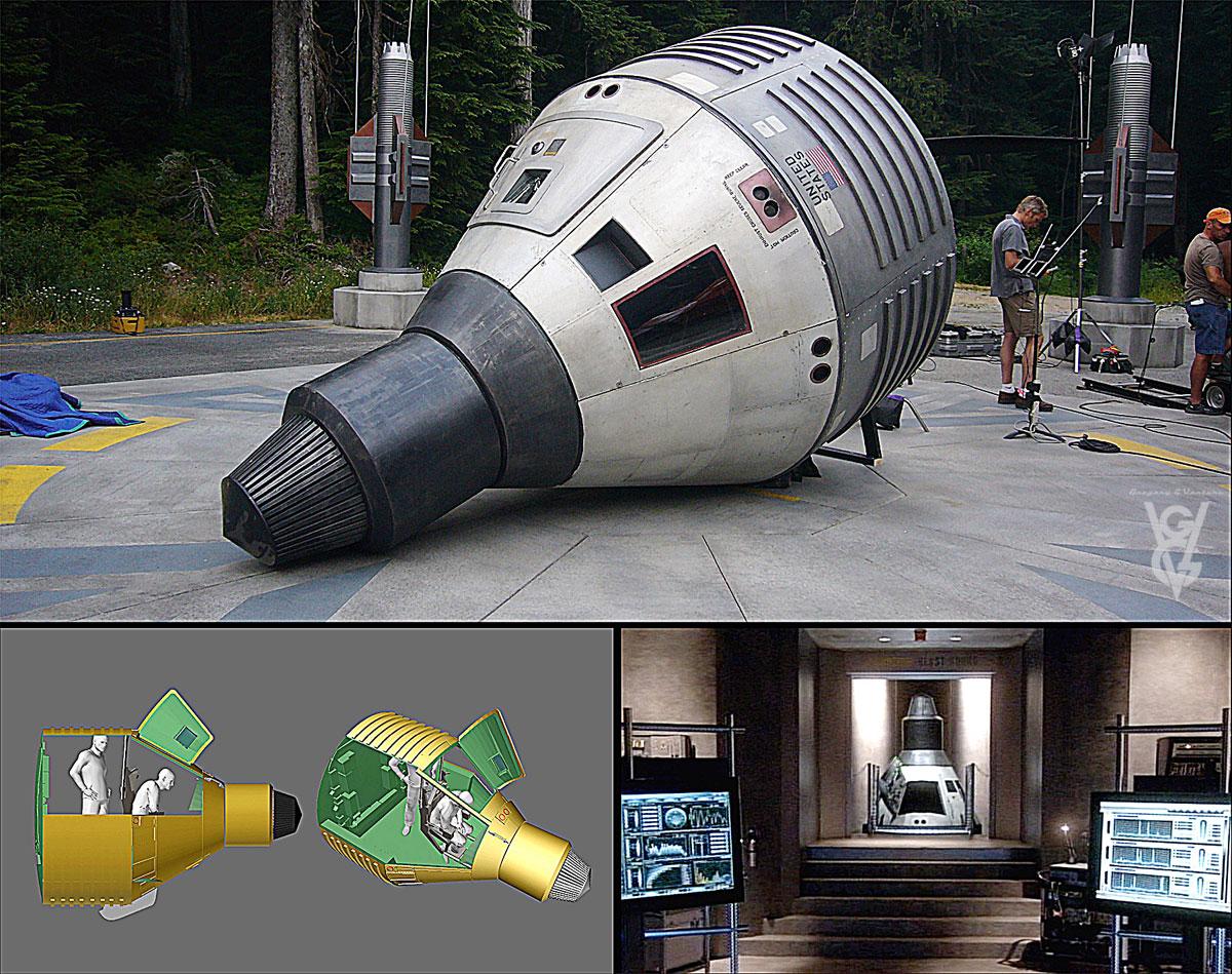 85 Period Space Capsule 1200w