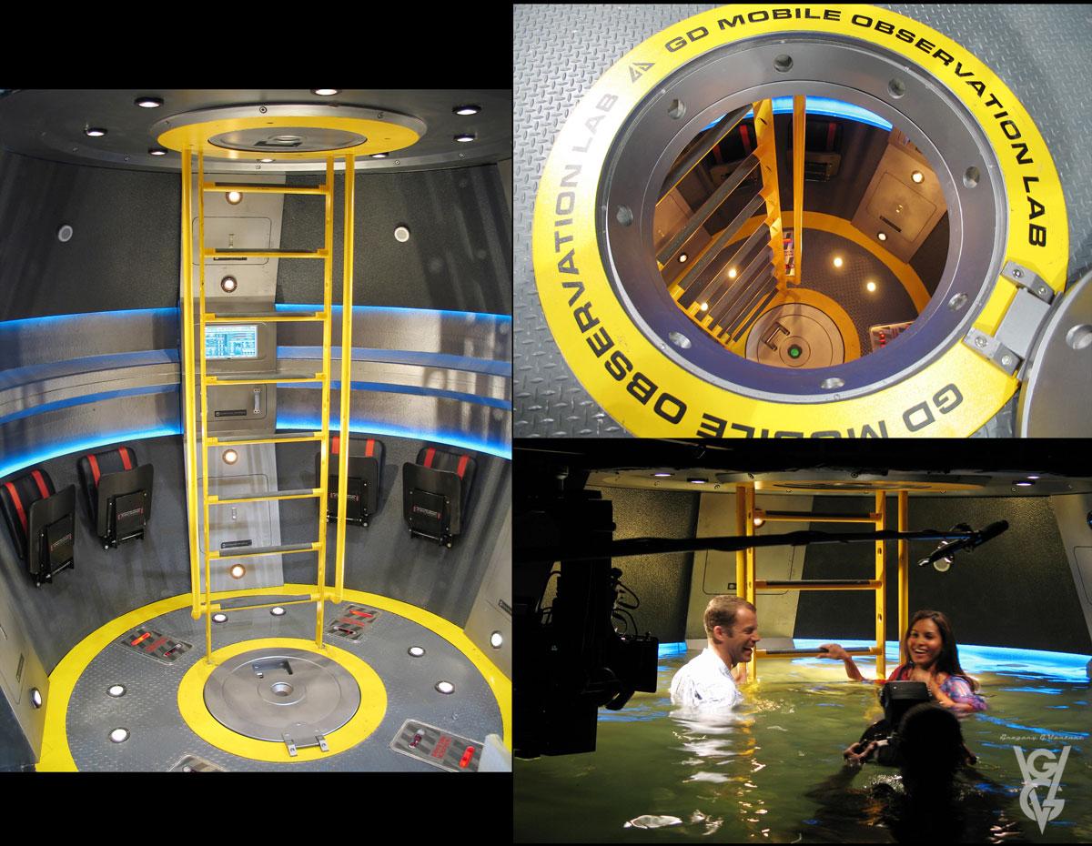 87 Marine Lab Airlock Pod 1200w