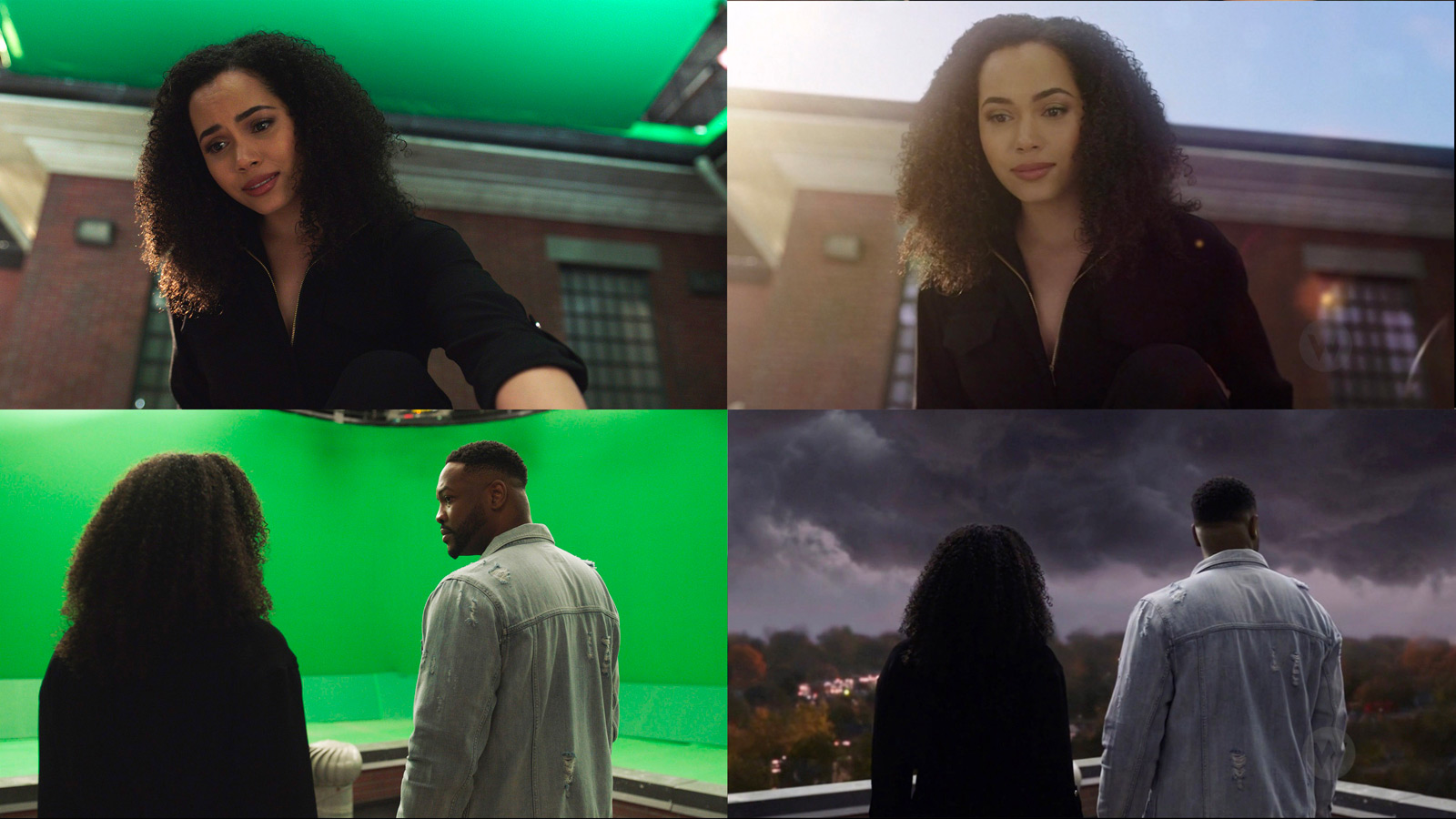 CHARMED: S1 - HOSPITAL ROOFTOP - SCREEN STILLS COMPOSITE