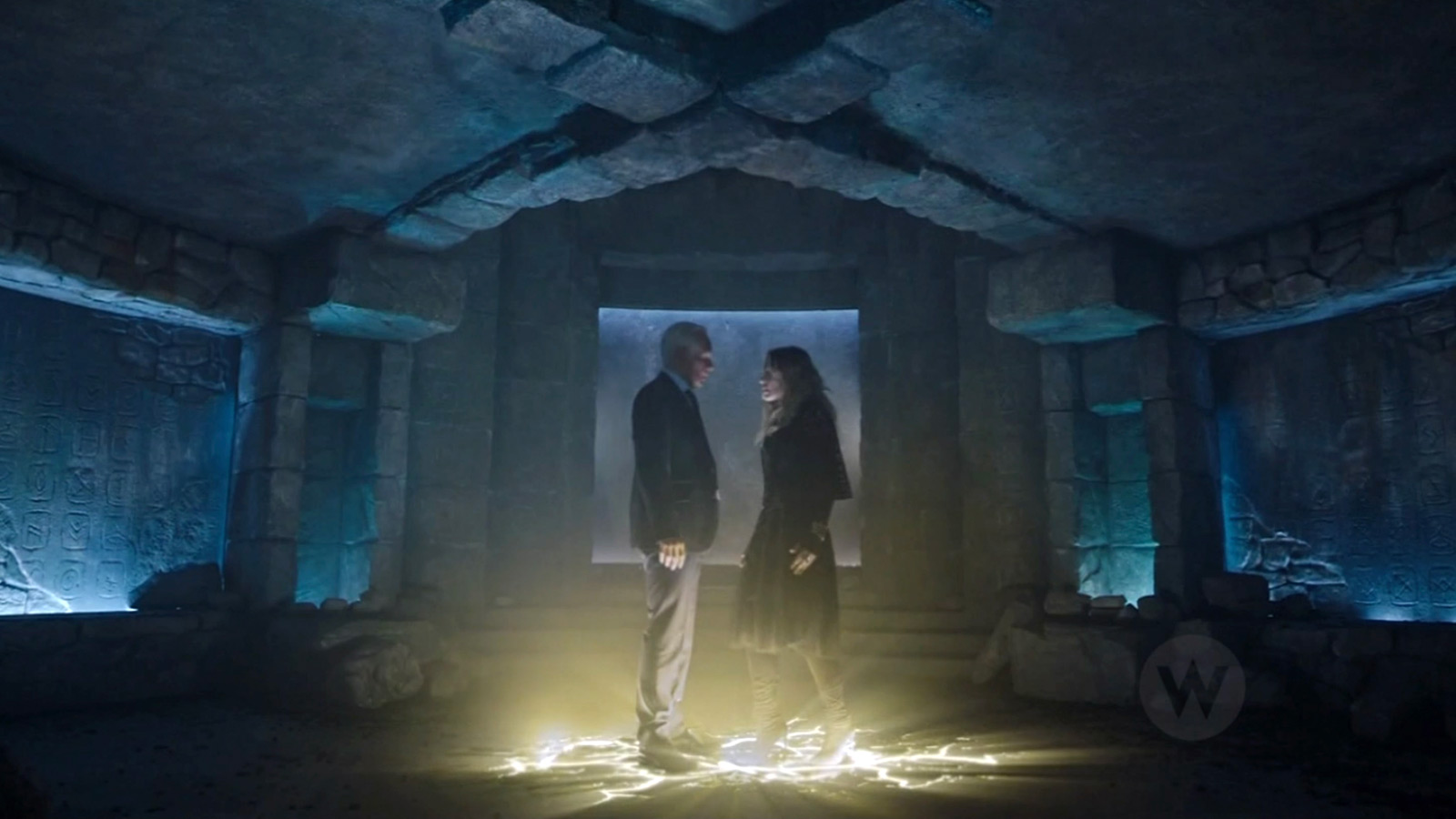 CHARMED: S1 - ANCIENT UNDERGROUND TEMPLE - SCREEN STILL