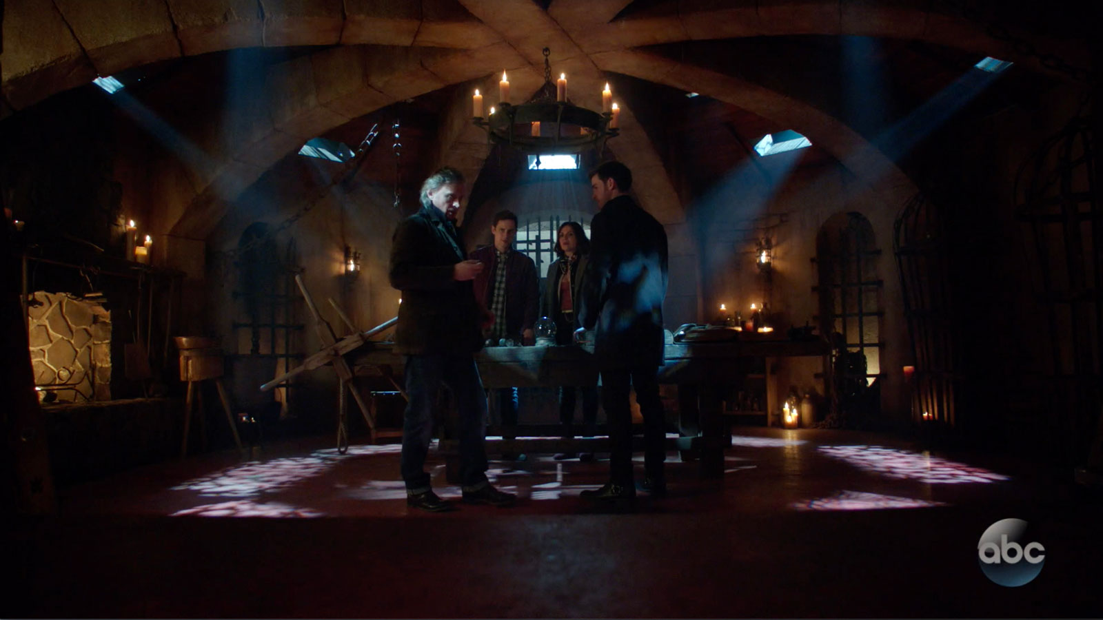 ONCE UPON A TIME: S7 - RUMPLE'S DUNGEON - SCREEN STILL