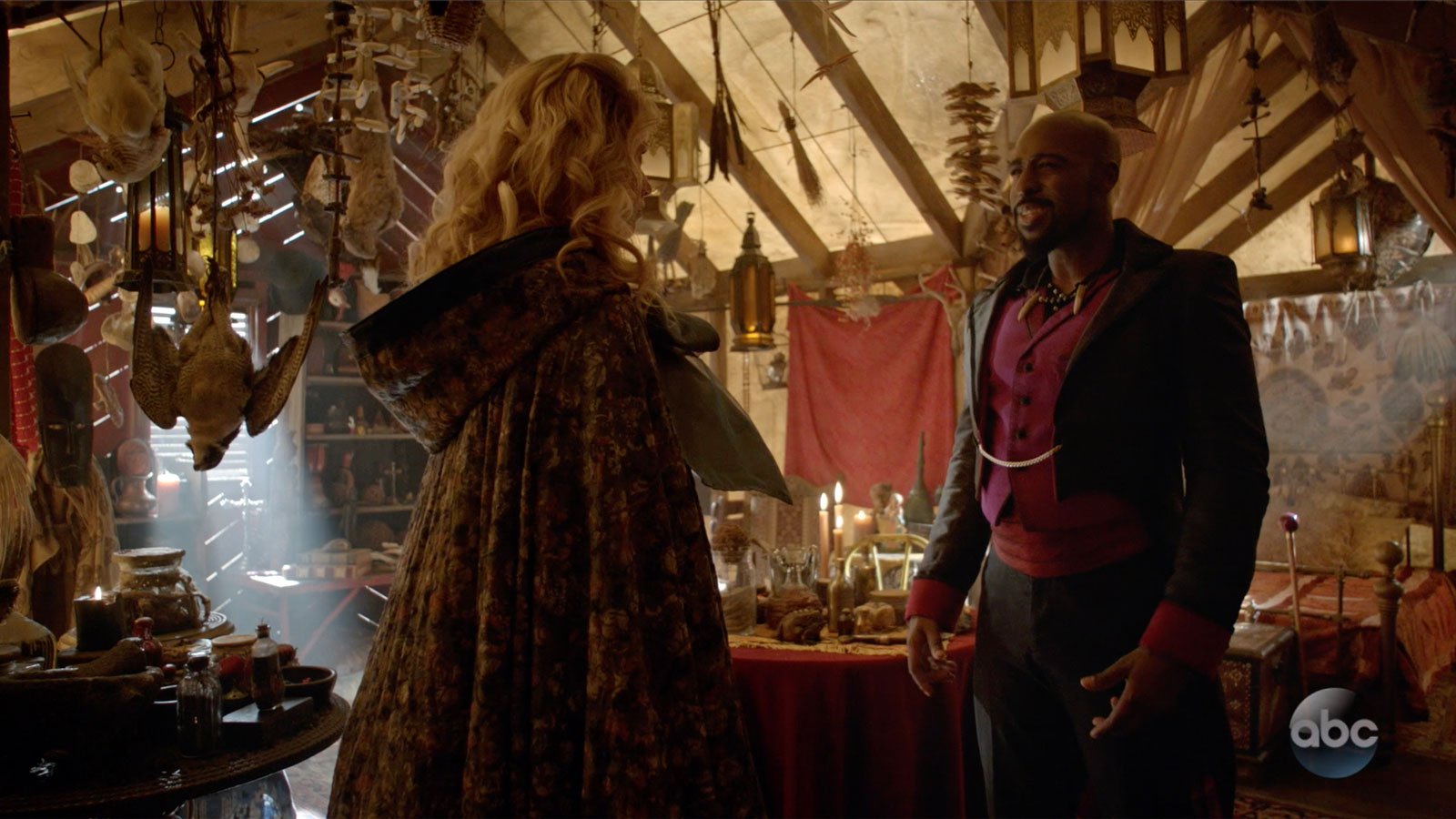 ONCE UPON A TIME: S7 - FACILLIER'S TENT - SCREEN STILL